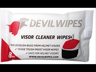 DEVIL WIPES - Visor Cleaner Wipes- Accessories
