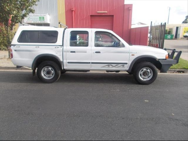 1999 FORD COURIER XL PD UTILITY