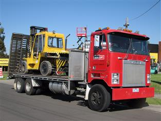 Forklift and Access Equipment Transport