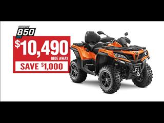 2018 CF MOTO X8 800CC ATV