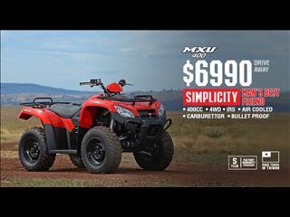 2018 KYMCO MXU 400 CC 400CC ATV