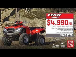 2017 KYMCO MXU 300 CC 300CC ATV