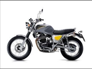 2016 SWM CLASSIC BIKES SILVER VASE 440 MOTORCYCLE
