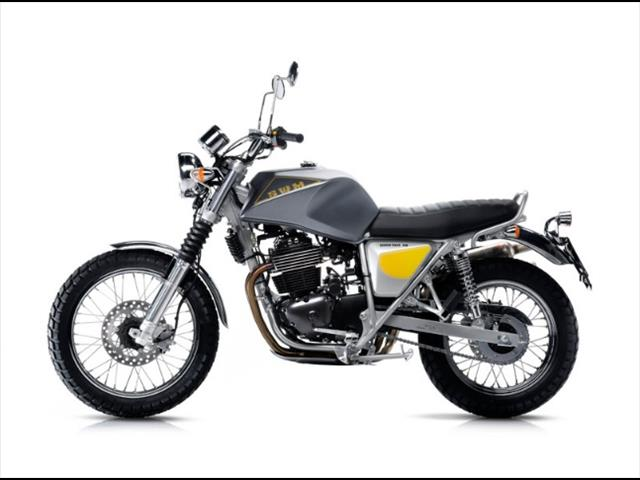 2016 SWM CLASSIC BIKES SILVER VASE 440 MOTORCYCLE