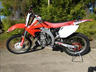 2008 HONDA CRF450R 450CC 8 MOTOCROSS