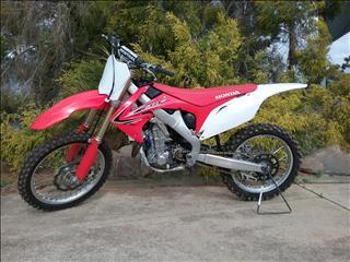 2012 HONDA CRF450R 450CC MY13 MOTOCROSS