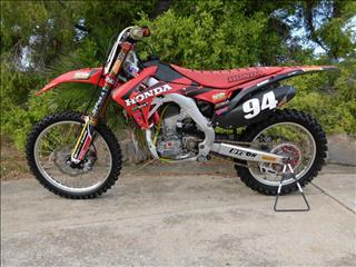 2016 HONDA CRF250R 250CC MY16 MOTOCROSS