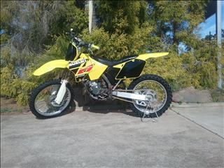 2001 SUZUKI RM125 125CC K1 MOTOCROSS