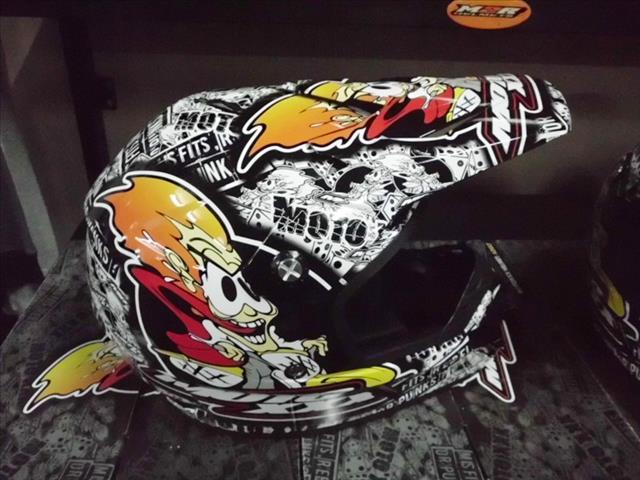 O?Neal Moto XXX OG helmet