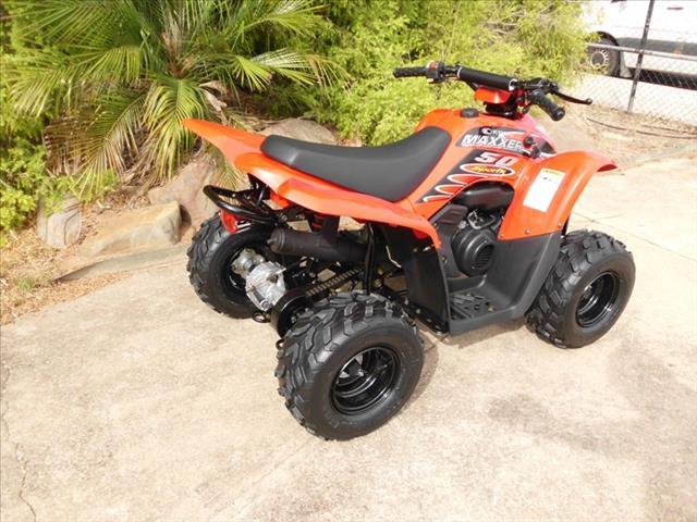 2017 KYMCO MAXXER 50 50CC ATV