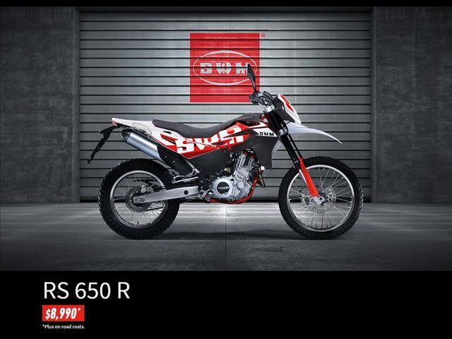 2015 SWM ENDURO RS 650R MOTORCYCLE