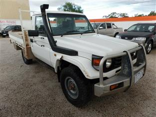 2003 TOYOTA LANDCRUISER  HZJ79R CAB CHASSIS