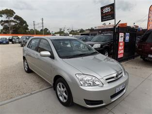 2006 TOYOTA COROLLA CONQUEST ZZE122R HATCHBACK