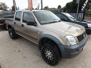 2003 HOLDEN RODEO LX RA UTILITY