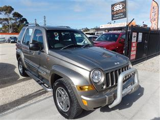 2006 JEEP CHEROKEE 65TH ANNIVERSARY KJ WAGON