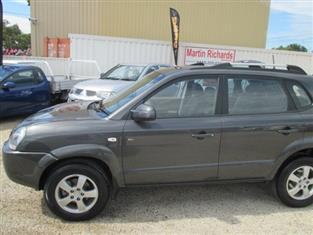 2007 HYUNDAI TUCSON CITY SX (No Series) WAGON
