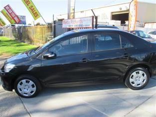 2008 TOYOTA YARIS YRS NCP93R SEDAN