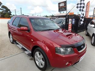 2007 FORD TERRITORY TURBO SY WAGON