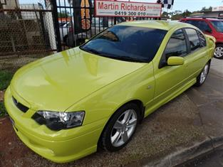 2004 FORD FALCON XR6 TURBO BA SEDAN