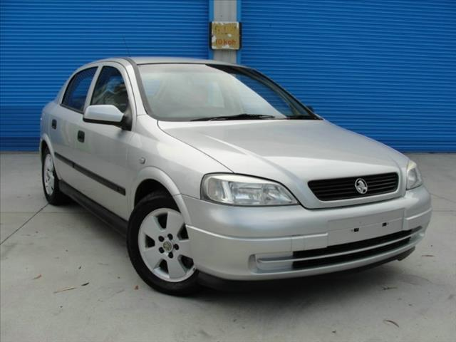 2003  HOLDEN ASTRA CD TS MY03 HATCHBACK