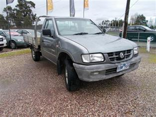 2002 HOLDEN RODEO LX TFR9 MY02 P/UP