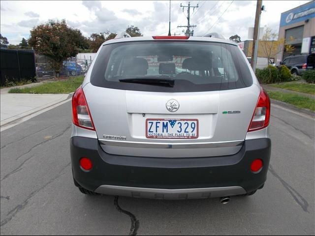 2012 Holden Captiva  CG Series II Wagon