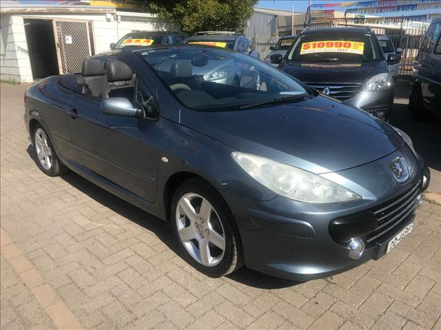 2006 PEUGEOT 307 CC DYNAMIC MY06 UPGRADE 2D CABRIOLET