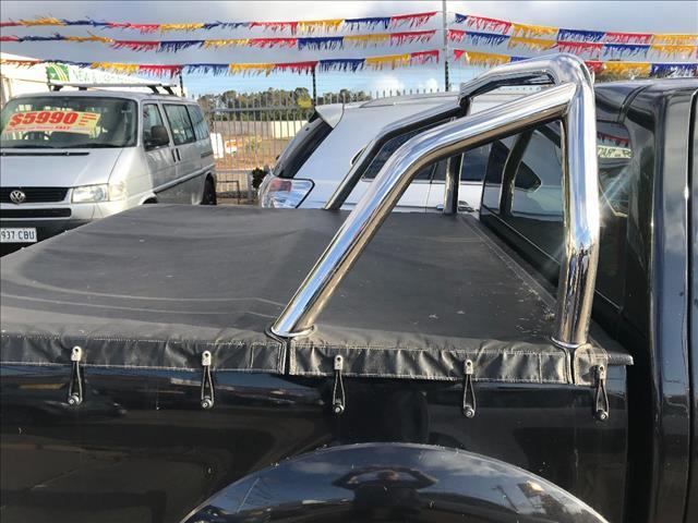 2012 GREAT WALL V200 (4x4) K2 DUAL CAB UTILITY