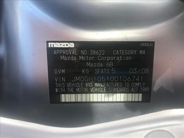 2007 MAZDA MAZDA6 LUXURY GG 05 UPGRADE 4D SEDAN