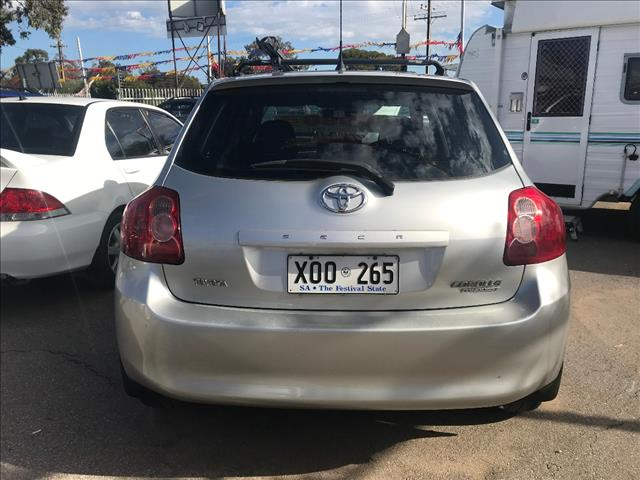 2007 TOYOTA COROLLA CONQUEST ZRE152R 5D HATCHBACK