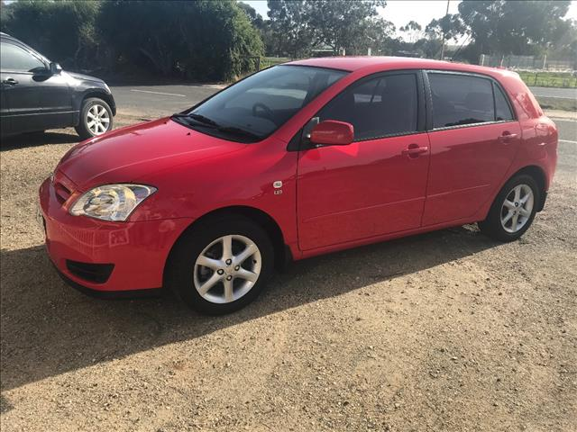 2006 TOYOTA COROLLA CONQUEST SECA ZZE122R MY06 UPGRADE 5D HATCHBACK