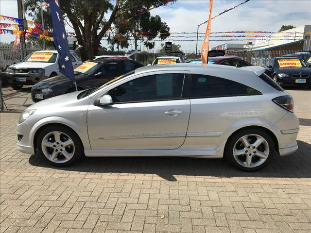 2008 HOLDEN ASTRA SRi AH MY08 3D COUPE