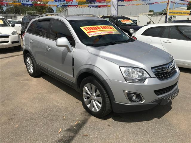 2014 HOLDEN CAPTIVA 5 LT (AWD) CG MY13 4D WAGON