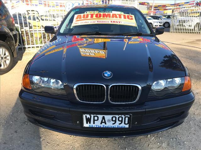 2001 BMW 3 18i EXECUTIVE E46 4D SEDAN