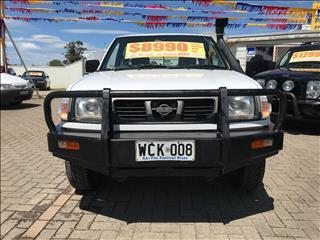 1998 NISSAN NAVARA DX (4x4) D22 DUAL CAB P/UP