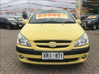 2007 HYUNDAI GETZ 1.4 TB UPGRADE 3D HATCHBACK
