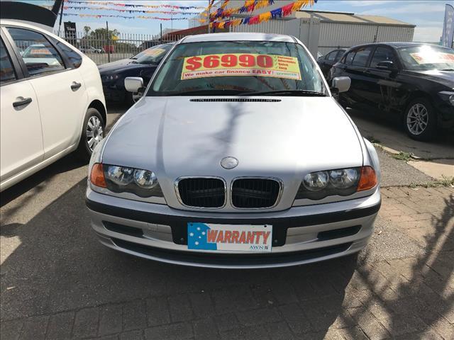 2001 BMW 3 18i E46 4D SEDAN
