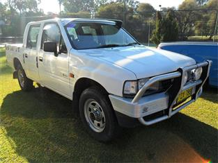 1995  HOLDEN RODEO DLX (4x4) TFG1 4WD CREW CAB P/UP