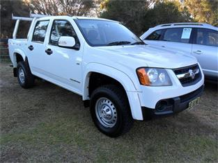 2009  HOLDEN COLORADO LX (4x2) RC MY10 RWD CREW CAB P/UP