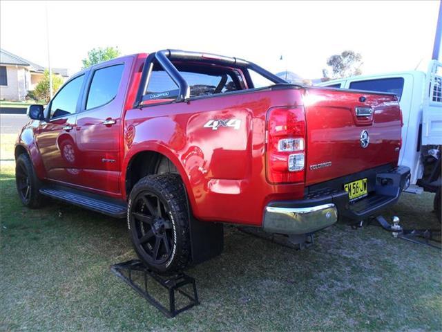 2015  HOLDEN COLORADO LTZ STORM (4x4) RG MY15 4x4 CREW CAB P/UP