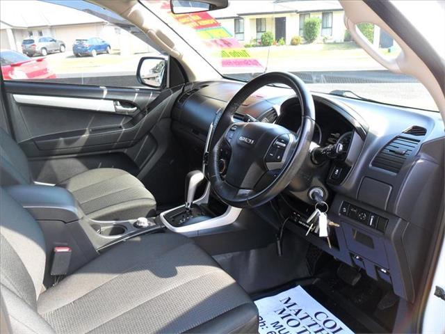 2017  ISUZU D-MAX LS-M HI-RIDE (4x4) TF MY17 4x4 CREW CAB UTILITY