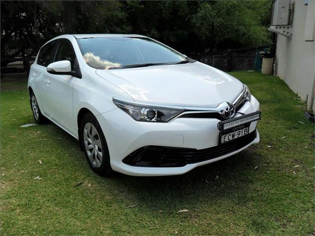 2015  TOYOTA COROLLA ASCENT ZRE182R MY15 FWD 5D HATCHBACK