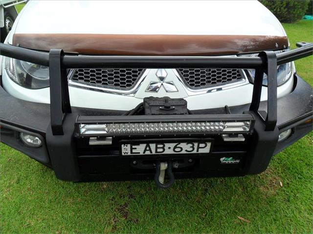 2013  MITSUBISHI TRITON GLX-R (4x4) MN MY13 4x4 DOUBLE CAB UTILITY