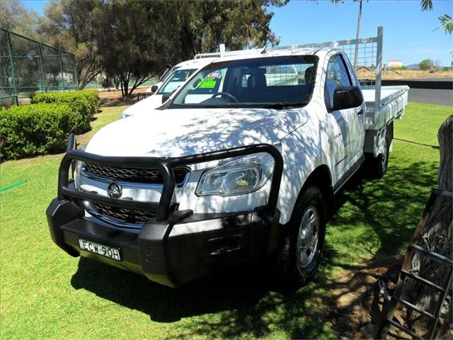 2013  HOLDEN COLORADO DX (4x4) RG 4x4 C/CHAS