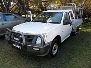 2008  HOLDEN RODEO DX RA MY08 RWD C/CHAS