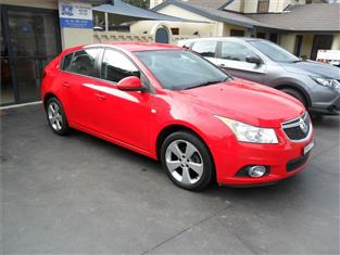 2014  HOLDEN CRUZE EQUIPE JH MY14 FWD 5D HATCHBACK