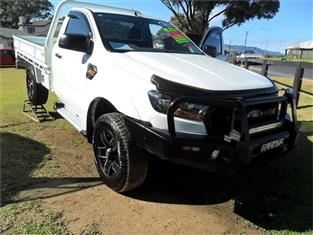 2016  FORD RANGER XL 3.2 (4x4) PX MKII 4x4 C/CHAS