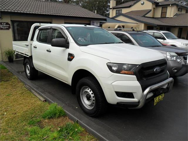 2015  FORD RANGER XL 3.2 (4x4) PX MKII 4x4 CREW C/CHAS