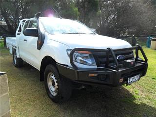 2015  FORD RANGER XL 3.2 (4x4) PX MKII 4x4 SUPER CAB CHASSIS