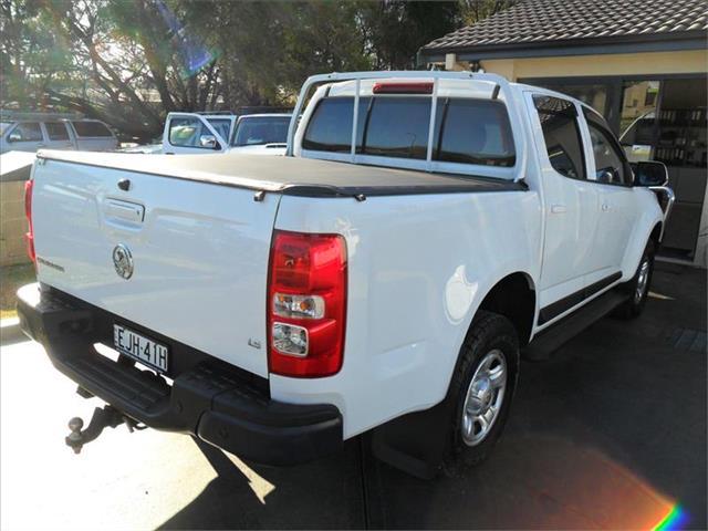 2016  HOLDEN COLORADO LS (4x2) RG MY17 RWD CREW CAB P/UP
